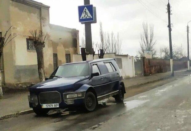 В Украине заметили кроссовер ЗАЗ с оригинальным дизайном (ФОТО)