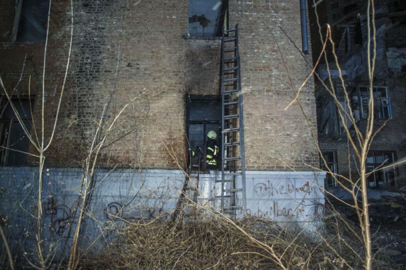 В Голосеевском районе Киева произошло два пожара (ФОТО, ВИДЕО)