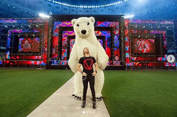 Олег Винник отметил День рождения на стадионе: как это было (ФОТО)
