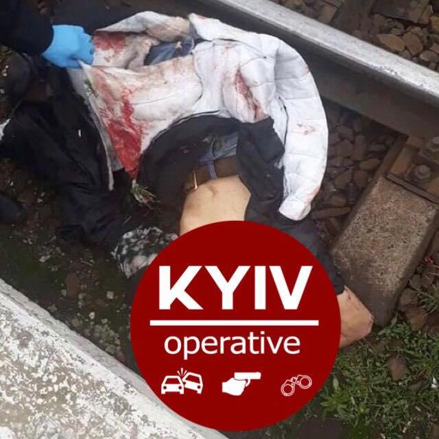 В Киеве поезд сбил насмерть парня на Саперно-Слободской (ФОТО)