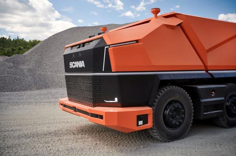Scania представила проект беспилотного самосвала (ФОТО, ВИДЕО)