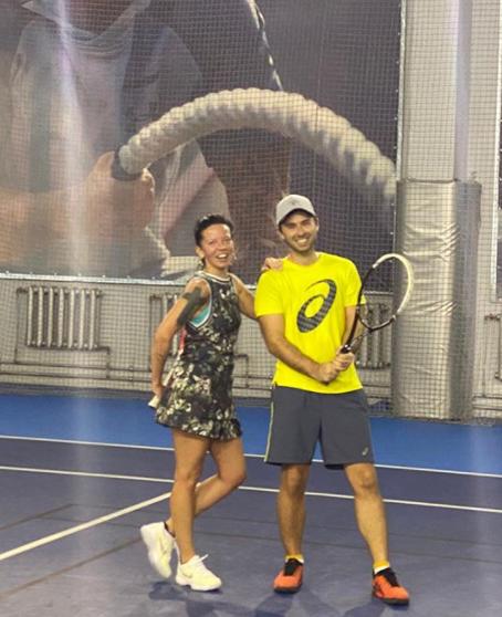 Бывшая жена Потапа показала фото с красавцем-тренером