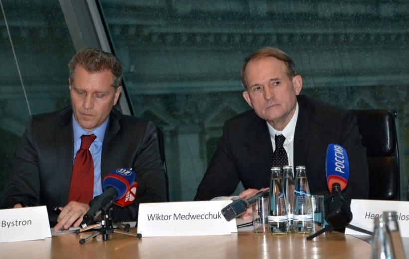 Виктор Медведчук в Бундестаге представил мирный план по урегулированию кризиса на Донбассе