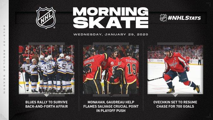 Обзор НХЛ 28 января: «Сент-Луис» в серии буллитов выгрызает победу у «Калгари», «Оттава» в гостях громит «Баффало» (ФОТО, ВИДЕО)