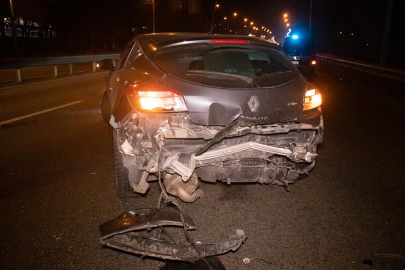 На Брест-Литовском шоссе в Киеве произошло два ДТП с участием шести автомобилей (ФОТО, ВИДЕО)
