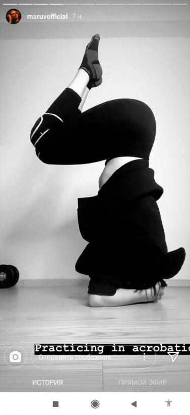 Похудела, отказавшись от мяса и картошки: MARUVна тренировке выполнила сложный трюк (ФОТО)
