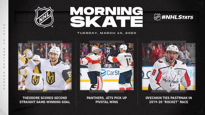 Обзор НХЛ 9 марта: «Вегас» идет вверх,  а «Лос-Анджелес» выиграл шестой матч кряду (ФОТО, ВИДЕО)