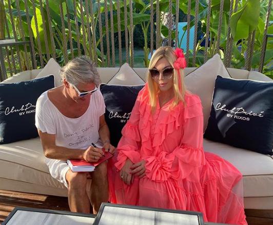50-летняя Ирина Билык обескуражила фанатов розовым платьем на отдыхе в Турции (ФОТО)