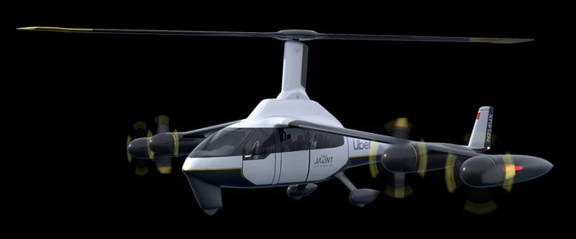«Анти-штопор»: стартап Jaunt разрабатывает винтокрыло для аэротакси (ФОТО, ВИДЕО)
